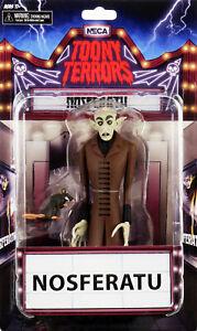 "Nosferatu Count Orlok (6"" Action Figure) vampire horror toy, Toony Terrors, NECA"