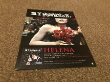 "(BEBK61) ADVERT/POSTER 11X8"" MY CHEMICAL ROMANCE : HELENA SINGLE"