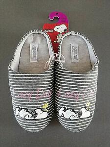 Peanuts Snoopy Ladies Mule Slippers Funny 36-37/38-39 Primark