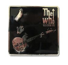 THE WHO MAXIMUM R&B PETE IMAGE METAL BELT BUCKLE NEW OFFICIAL MERCH