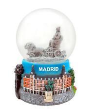 Madrid Placa de Cibeles Schneekugel Spanien Espana Souvenir,Snowglobe,New