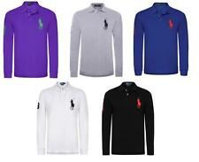 Ralph Lauren Men's Long Sleeve Regular Cotton Casual Shirts & Tops