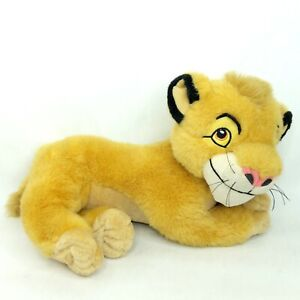 The Lion King Simba plush soft toy Disney