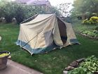 Vintage HILLARY Canvas Tent 10' X 13' Family Camping cottage Tent  Springbar