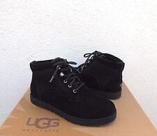 UGG BETHANY CLASSIC SLIM BLACK SUEDE/ SHEEPSKIN BOOTS, WOMEN US 11/ EUR 42 ~NEW