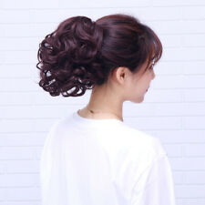 10'' Short Ponytail Curly Wave Claw Hair Extension Synthetic Claw Soft Hair 120g