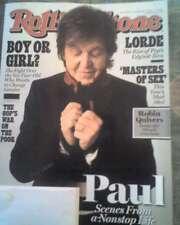 Paul McCartney Rolling Stone Magazine November 7, 2013 #1195 Lorde