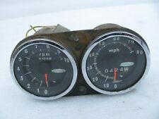 Vintage Original Skiroule Snowmobile snow sled Gauges Speedometer Tachometer