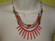 Necklace Nwt #As29 Sonoma Semi-Precious Coral Fashion