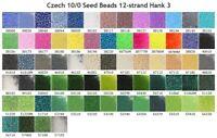 2.2-2.4mm Beads mix #8 20 gr light Blue mix -High quality rocaille Czech seed beads /'/'Preciosa/'/' 100