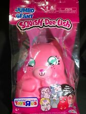 JUMBO SQUISH - DEE - LISH SLOW RISE PINK BEAR TOYS R US EXCLUSIVE BRAND NEW