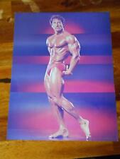 Mr Olympia Bodybuilder FRANK ZANE muscle bodybuilding 8 X 10 photo