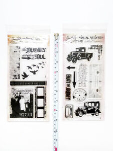 LOT2 TIM HOLTZ VISUAL ARTISTRY Stampers Anonymous Lost Found Journey Clr Stamps