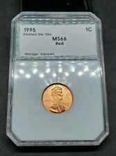 1995 Lincoln Cent Double Die Obverse Gem BU 1995 DDO red beautiful coin FS 101.1