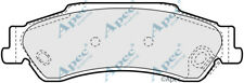 REAR BRAKE PADS FOR CHEVROLET BLAZER S10 GENUINE APEC PAD1177