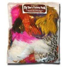 Whiting, Fly Tying Feather, Neck and Saddle hackles Hen and Cock, Mixed Pack,
