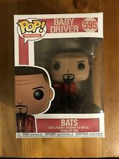 Funko Pop! - Movies - Baby Driver - #595 Bats Free Tracked Delivery New