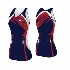 Sublimated Junior Netball Team Kit - 10  dresses.  Many designs & colour combos.