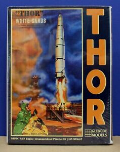 Glencoe Models 08904 Adams Thor at White Sands Missile Kit 1:87 New USA Made