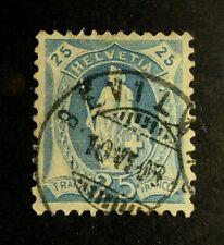 Switzerland Scott's #102a, used