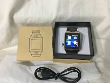 DZ09 Bluetooth Smart Watch Wristwatch Camera Sync Android IOS Smart Phone Golden