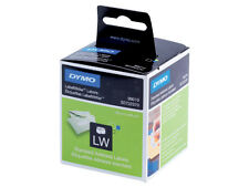 DYMO Labels 2 pack = 260 Labels 130 Per Roll White Standard, 89 x 28mm +24h del