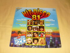 Super 20 - Hit Disco '81  LP Compilation (Boney M., Blondie, Robert Palmer, Lio)