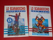 LO SCARABOCCHIO n. 0 + SPECIALE ** UOMO RAGNO FANZINE MARVEL