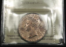 1881-H Canada Silver 50 Cent AU-55 ICCS - High end Queen Victoria Rare Coin