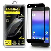 CaseBase Premium Tempered Glass Screen Protector for Google Pixel XL - Twin Pack
