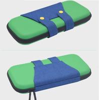 Super Mario Luigi Hard Carrying Case Nintendo Switch Console Joy-Con Zipper Bag