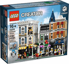 LEGO - ASSEMBLY SQUARE SET 10255 - 4000 PIECES - HUGE MODULAR/HOUSE/BULK NIB