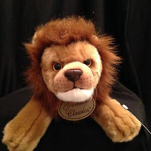 """Russ Yomiko 15"""" Male Lion Classics Plush Soft Stuffed Animal Toy Gift Jungle NWT"""
