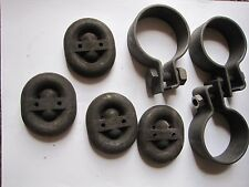 AUDI 100 100LS 100S EXHAUST MOUNT GASKET CLAMP AND HANGER KIT NEW OLD STOCK