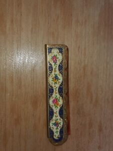 Vintage Stratton Metal Folding Ladies Comb in fab condition