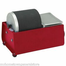 NEW 3 LB  Rotary Barrel Rock Polisher Tumbler JEWELRY, GEMS, ROCKS , SCHELLS