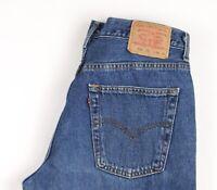 Levi's Strauss & Co Herren 582 02 Gerades Bein Jeans Größe W34 L34 BBZ692