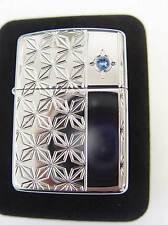 Zippo® France Annual lighter Limited Edition Sammler blue Crystal Stone 125/500