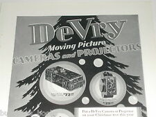1929 DeVry Camera advertisement, DeVRY movie & still cameras, projectors