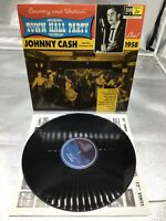 JOHNNY CASH: Live At Town Hall Party LP 5170 (Mono, high quality vinyl pressing)