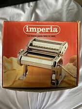 Imperia Pasta Maker Machine - Stainless Steel Made in Italy