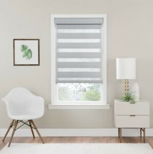 NEW Achim Celestial Cordless Room Darkening Double Layered Roller Shade - Oyster