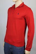 Polo Ralph Lauren Red 1/2 Half Zip Pima Cotton Mockneck Pullover NWT