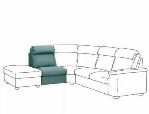 NEW IKEA LIDHULT Cover for 1 Seat Sofa Section Gassebol Blue Gray 504.040.89 NIB