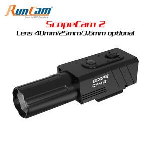 RunCam Scope Cam2 Wifi 40 / 25 / 3.6mm Lens 1080P HD-Kamera Action Video Camera