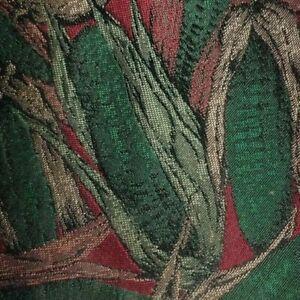 Green Burgundy Corn Stalks Silk MOLTENI Tie