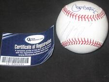 CARLOS BELTRAN & JOSE REYES MLB LEGENDS DUAL SIGNED AUTOGRAPHED BASEBALLS COA 3