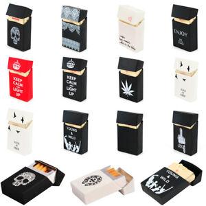 1Pcs Silicone Cigarette Case Holder 20 Cigarette Tobacco Pocket Cover Man's Gift