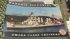 OMAHA CLASS CRUISERS WARSHIP PICTORIAL #6 CLASSIC WARSHIPS PUB RARE OOP