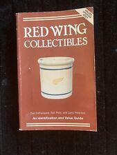 Red Wing Collectibles by Gail Peck; Dan DePasquale; Larry Peterson BOOK GUIDE